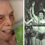 102 dancer sees herself on film